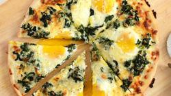 Bữa sáng làm pizza trứng ăn vừa ngon vừa đủ chất