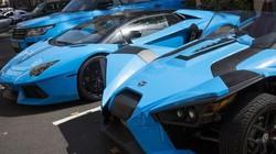 """Tỉ phú Ả Rập trưng dàn siêu xe màu """"độc"""" ở London"""