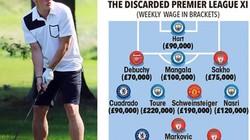 """Đội hình những ngôi sao phải """"nuôi báo cô"""" ở Premier League"""