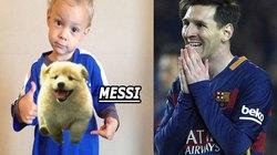 HẬU TRƯỜNG (27.8): Con trai Neymar đặt tên Messi cho cún cưng