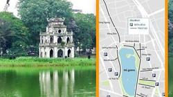 [Đồ họa] Xe lưu thông thế nào quanh 16 phố đi bộ Hồ Gươm?