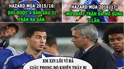 """HẬU TRƯỜNG (21.8): Hazard thừa nhận """"chơi khăm"""" ông thầy Mourinho"""