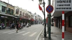 Ngày mai 1.9, sẽ cấm đường thí điểm phố đi bộ quanh Hồ Gươm