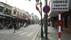 Các công sở lớn không mở nhà vệ sinh cho khách đi bộ phố Hồ Gươm