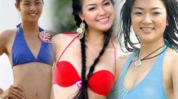 """""""Khai quật"""" ảnh bikini xưa cũ của các hoa hậu Việt"""