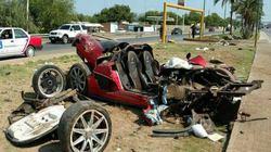 Koenigsegg CCX giá 30 tỷ đồng nát vụn khi gặp nạn