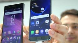So sánh nhanh Sony Xperia XZ và Samsung Galaxy S7 Egde