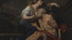 """Hé lộ ẩn tình sau bức phù điêu """"ông già ngậm bầu ngực cô gái trẻ"""""""