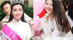 Nữ sinh trường hoa hậu Mỹ Linh xinh đẹp ngày khai giảng