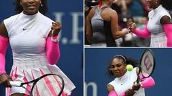 Serena Williams qua mặt Federer, thiết lập kỷ lục mới tại Grand Slam