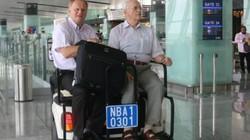 Đi xe điện miễn phí trong khu cách ly ở sân bay Nội Bài