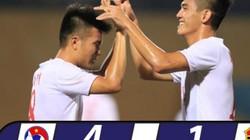 Clip U19 Việt Nam vùi dập U19 Đông Timor