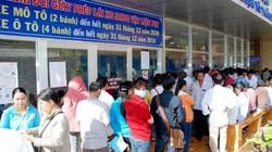 Tiền Giang: Người người kéo nhau đi đổi giấy phép lái xe bất thường
