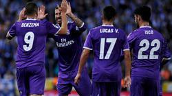 Thắng Espanyol 2-0, Real san bằng kỷ lục với Barca