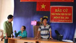 Gia Lai: Nhận được tiền mới bầu trưởng thôn