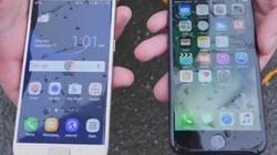 iPhone 7 đọ khả năng chống nước với Galaxy S7