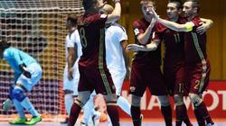 Nga dùng nửa đội hình Brazil đấu ĐT futsal Việt Nam