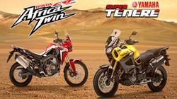 So găng Honda CRF1000L Africa Twin và Yamaha Super Tenere