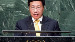 Tại LHQ:  Việt Nam kêu gọi kiềm chế về Biển Đông