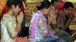 Lễ đặt cơm vắt của người Khmer