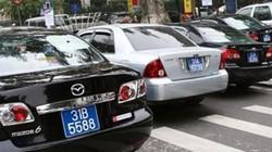 Khoán xe công: Ước tính thừa vài nghìn xe