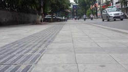 Lát đá vỉa hè Hà Nội: Sở đề xuất đá tự nhiên, quận nói chỉ cần gạch là phù hợp