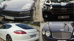 Xuất hiện hàng loạt xe sang đeo biển giả siêu đẹp ở Hà Tĩnh