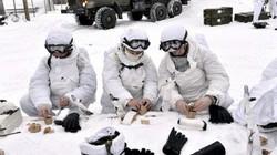 """Những """"bảo bối"""" giúp lính Nga chống chọi giá lạnh Bắc Cực"""