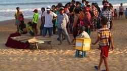 Tá hỏa phát hiện thi thể đàn ông ở bãi biển Quy Nhơn