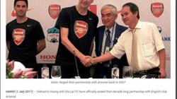 AFF chỉ ra lý do thực sự khiến HAGL chia tay Arsenal