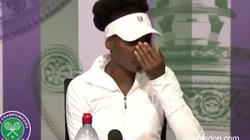 Wimbledon 2017: Venus Williams òa khóc vì dính líu vụ tai nạn chết người
