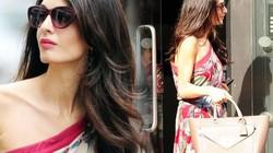 Nét quyến rũ đặc biệt của cô vợ kém 17 tuổi mới sinh đôi cho George Clooney