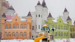 Dễ thương trường mẫu giáo giống lâu đài cổ tích