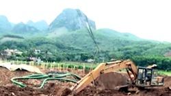 Clip: Thuê đất trồng lúa để khai thác vàng trái phép ở Hòa Bình