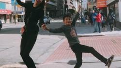 Mẹ con Hồ Ngọc Hà- Subeo tung tăng dạo phố ở Mỹ