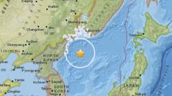 Động đất 5.8 độ richter bất thường ngoài khơi Triều Tiên