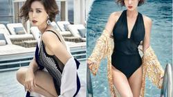 """Cựu Hoa hậu Hàn Quốc mặc bikiki gây """"đau tim"""" khi biết tuổi 50"""