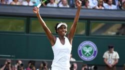Kết quả giải quần vợt Wimbledon (14.7): Venus Williams lần thứ 9 vào chung kết