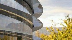 Video: Trụ sở Apple Park đẹp như mơ sắp hoàn thiện