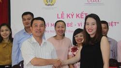 """Ký kết thoả thuận dự án """"Vì mẹ và bé – Vì tầm vóc Việt"""""""