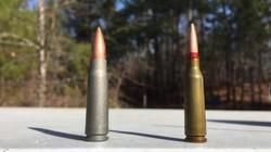 Đọ đạn súng trường 7,62mm và 5,56mm: Ai hơn ai?