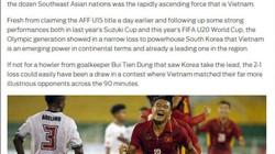 Báo Anh kinh ngạc trước sự tiến bộ của U22 Việt Nam