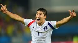 """Tuyển thủ Hàn Quốc """"xé lưới"""" Nga ở World Cup 2014 quyết đấu Công Phượng"""