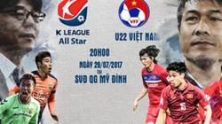 U22 Việt Nam – Các Ngôi sao K.League: Thuốc thử liều cao