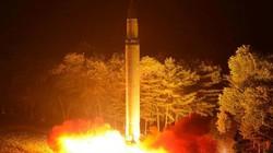 Công bố loạt ảnh Triều Tiên bắn tên lửa xuyên lục địa Hwasong-14