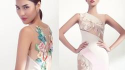 Lan Khuê hóa nữ thần mùa hạ với váy xuyên thấu thêu hoa