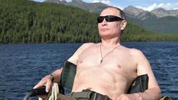 Putin cởi trần, tận hưởng kỳ nghỉ hè tràn đầy ánh nắng