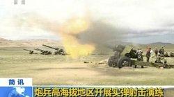 Sau lời dọa Ấn Độ, TQ rầm rộ tập trận bắn đạn thật thị uy