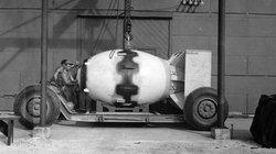 Chùm ảnh Mỹ chuẩn bị bom nguyên tử ném xuống Nhật Bản