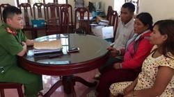 Bắt giữ 3 đối tượng thuê taxi chở 2 bé gái ra Móng Cái